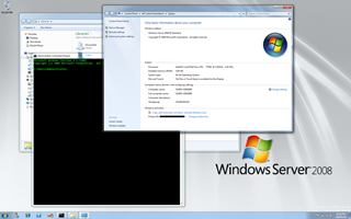 Windows Server 2008 R2 with access to all available RAM and CPU cores and Aero effects at 1900 x 1200